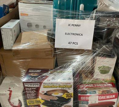 Bulk General merchandise liquidation pallets mix salvage