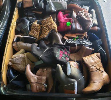 Fall-Winter Shoe Mix pallets liquidation