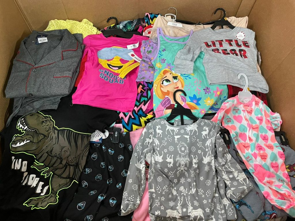 Kids Clothing Pallets liquidation apllets