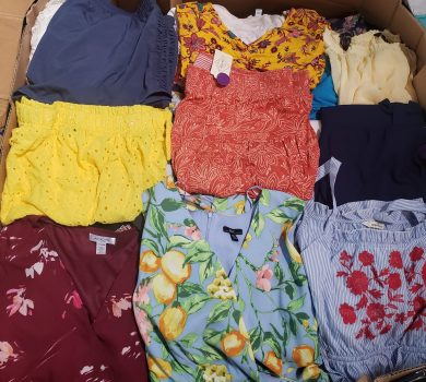 Plus Size Clothing Pallets
