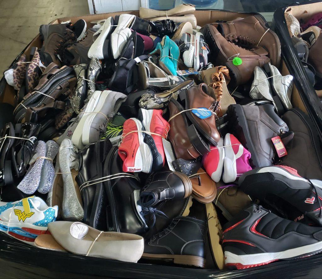 Spring Summer Shoes liquidation pallets