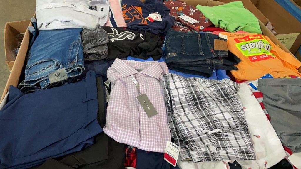 brand name Clothing Pallets